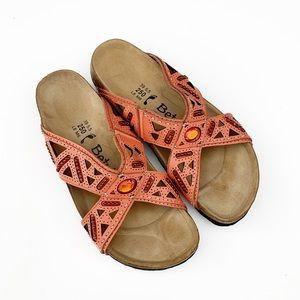 Betula Birkenstock Joyce Beaded Jewel Sandals